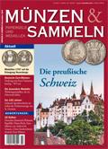 Münzen & Sammeln Ausgabe 11/2021 - Cover