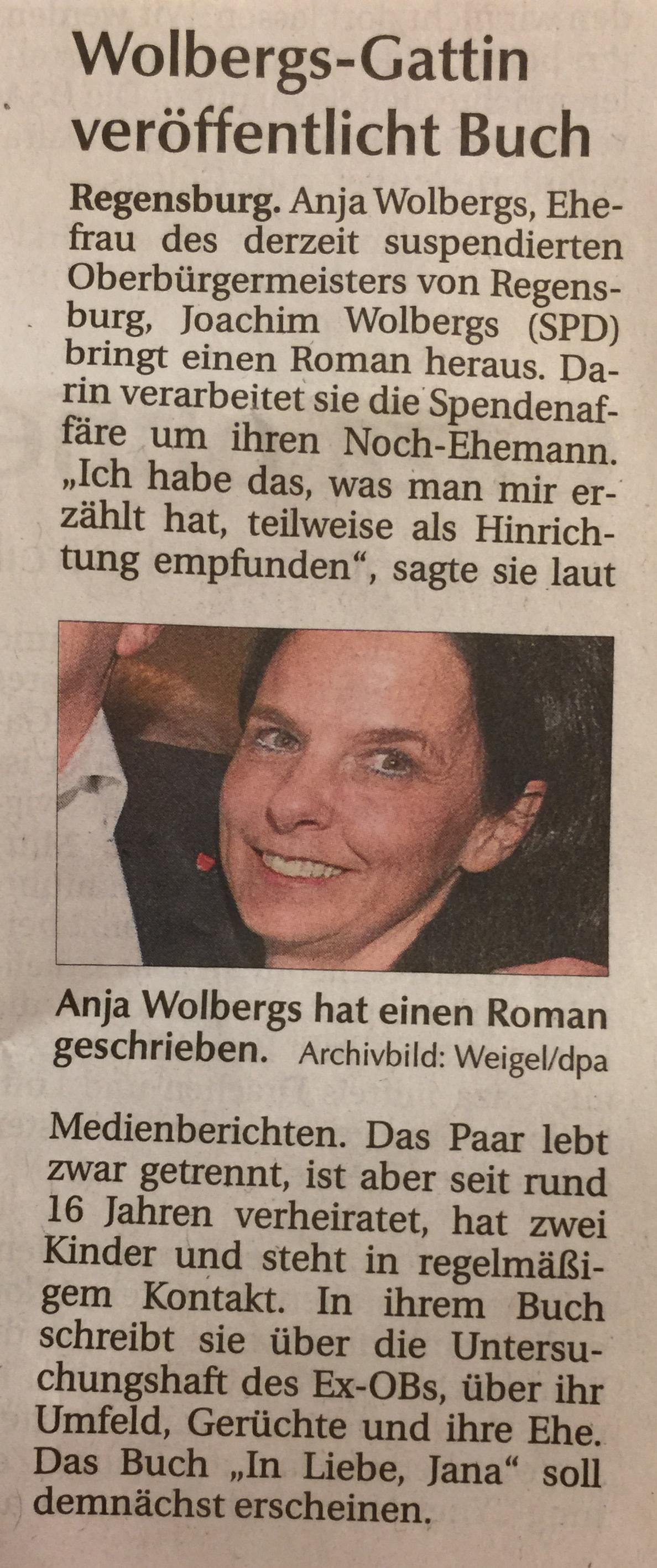 Wolbergs neue frau